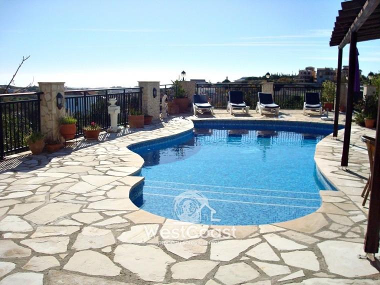 Detached Villa For Sale In Anavargos Paphos Sl17526